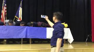 Pi-Day Lower Grade Staff Pie Eating Contest