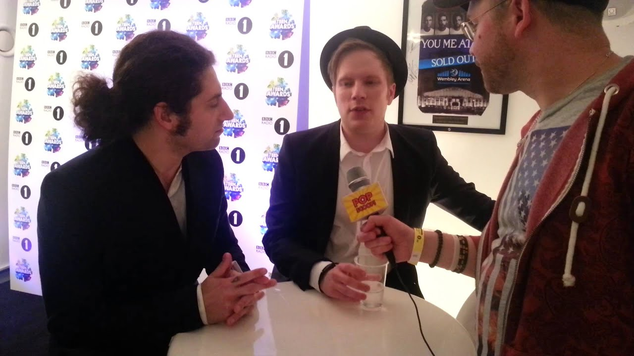 fall out boy - interview with pop scoop! (bbc radio 1's teen awards