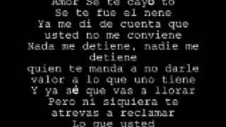 toby love soy igual que tu--lyrics