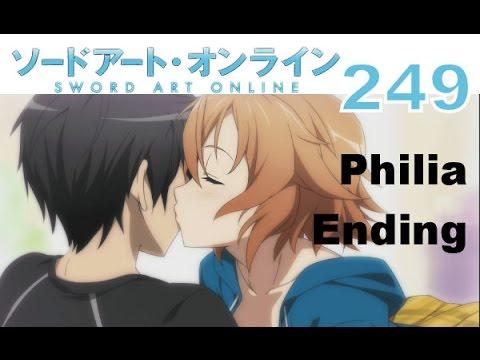 sword art online philia ending a relationship