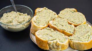 Вкуснейшая намазка на хлеб из КАБАЧКА На завтрак обед и ужин за 15 минут Все ищут этот рецепт