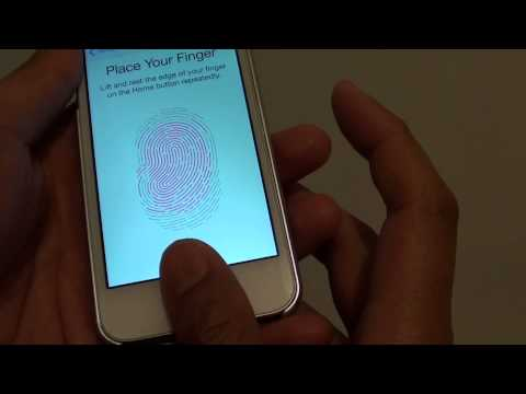 IPhone 5S: How To Enable Touch ID And Setup Lock Screen Finger Print