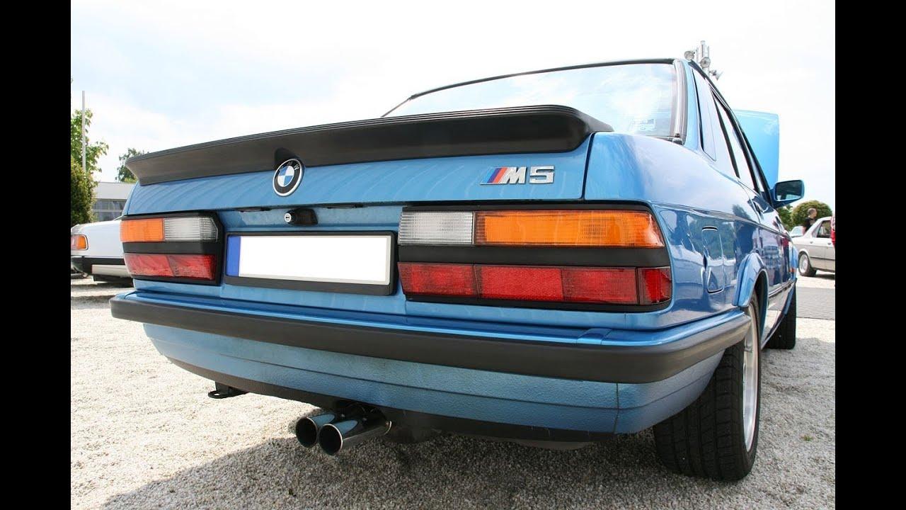 BMW M5 E28 exhaust sound - YouTube