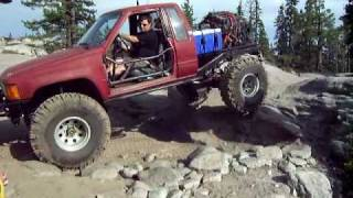 rubicon trip flat bed toyota and landcruiser