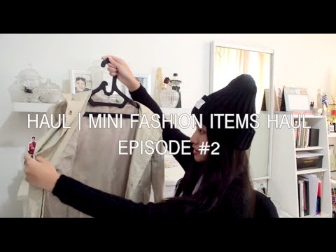 HAUL | Mini Fashion Items Haul #2 [Adidas, Steve Madden, ZARA, NEW LOOK, etc.]