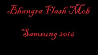 Bhangra Flash Mob | 2016 | Punjabi | Latest Video