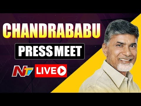 Chandrababu LIVE | Chandrababu Press Meet At Chennai | NTV LIVE