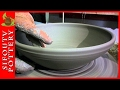 Pottery for Beginners - How to Make a Pottery Plate ep 01