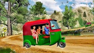 Mountain Auto Tuk Tuk Rickshaw Game New Games 2021 Tol Road Brokers Rokey - Android Gameplay screenshot 4