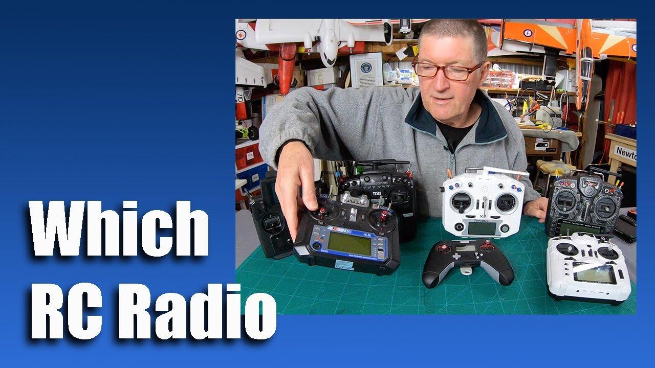 Which RC Radio - Transmitter comparison