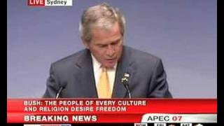 President Bush - APEC 2007 Business Summit - Part 4 of 4