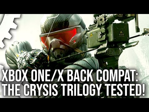 Crysis Trilogy On Xbox One/ X Backward Compatibility - Every Game Tested!
