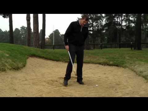 High spinning bunker shots - Clifford Gough