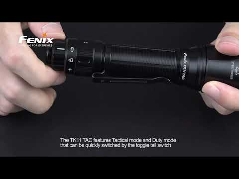 Senter Fenix TK11 TAC LED Flashlight