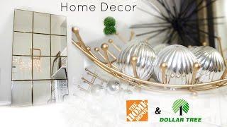 DIY: Full Length Leaning Mirror + More Home Decor | Dollarstore