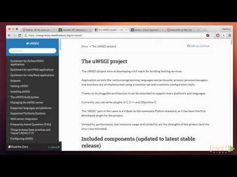 Learning Django Web Development: Introducing WSGI   packtpub.com