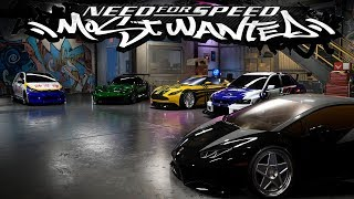 NFS Most Wanted Cars in Need For Speed Payback - 1080pHD