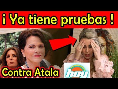 Pati Chapoy YA TIENE LAS PRUEBAS CONTRA ATALA de su visita a Televisa (Alex Kaffie)