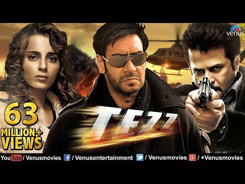 Tezz (HD) | Full Hindi Movie | Ajay Devgan Full Movies | Lat