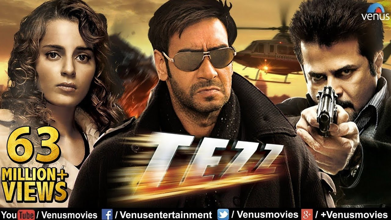 Tezz Hd  Full Hindi Movie  Ajay Devgan Full Movies