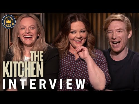 Melissa McCarthy, Elisabeth Moss & Domhnall Gleeson On 'The Kitchen'