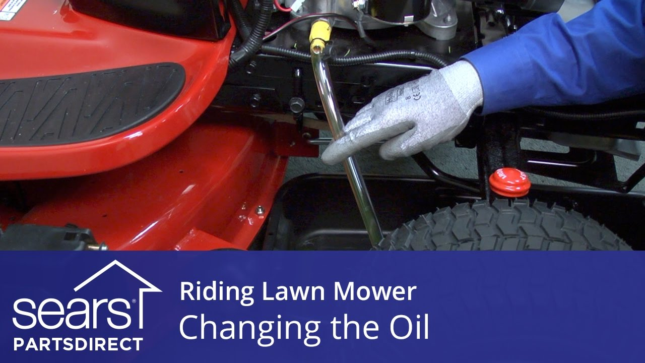 Changing the Oil in a Riding Lawn Mower