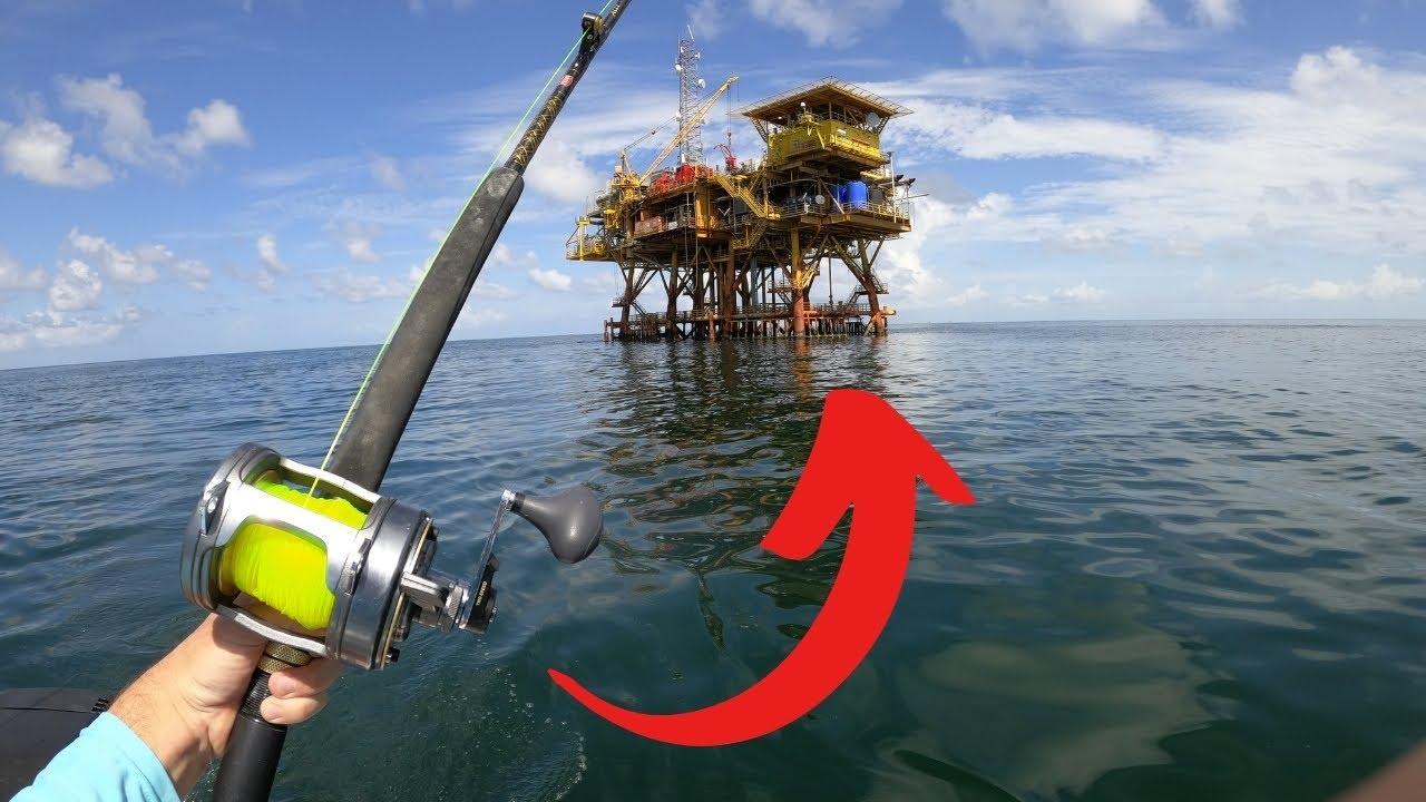 DEEP SEA CATCH AND COOK! (GIANT OIL RIG FISHING)