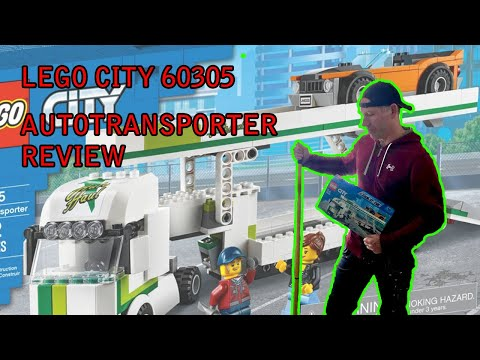 LEGO® City 60305 Auto Transporter mit Muscle Car Review