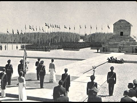 Mohammad Reza Shah Pahlavi Speech 20 Mehr 1350 -Pasargad -2.500 Years Celebration