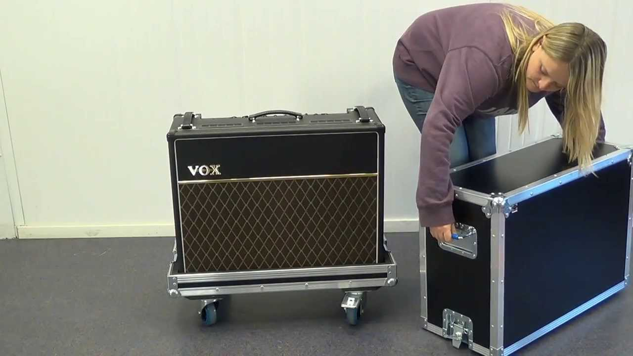 Capro Flightcase for VOX AC30 Guitar Amplifier  YouTube