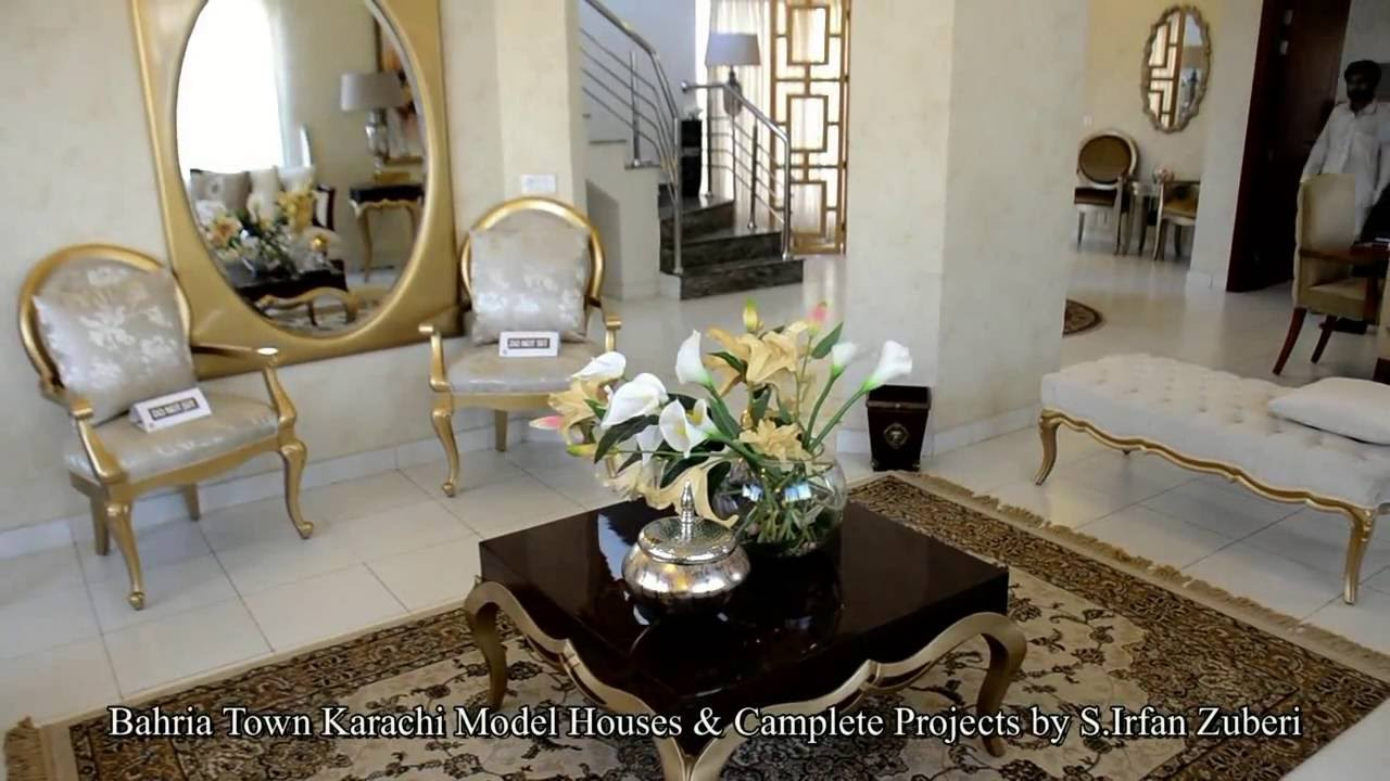 Bahria Town Karachi Pakistan Model Houses Completed