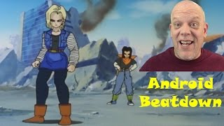 "REACTION VIDEO | ""Future Trunks vs Androids 17 & 18"" - Android Beatdown"