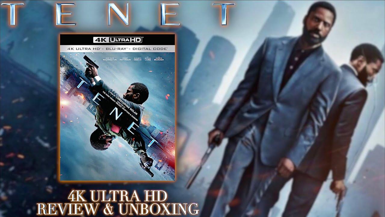 TENET - 4K Ultra HD Bluray - Review & Unboxing | BD