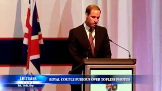 Royal couple furious over topless photos