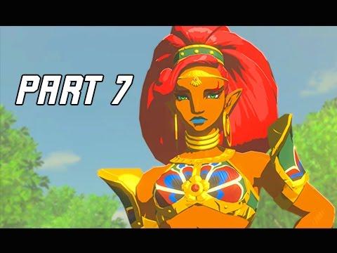 Legend of Zelda Breath of the Wild Walkthrough Part 7 - Gerudo Desert (Let's Play)
