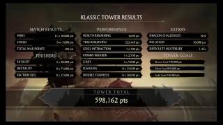 Mortal kombat XL tower speed runs as different characters