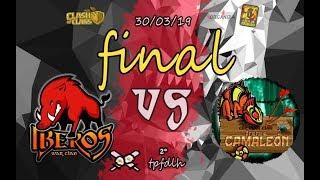 FINAL DEL TPFDLH de Clash of Clans! IBEROS Clan War vs Frente CAMALEON!