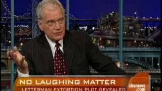 David Letterman Extortion Details
