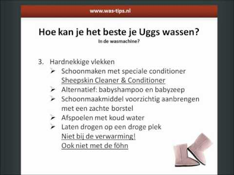 Hoe kan je het beste je Uggs wassen