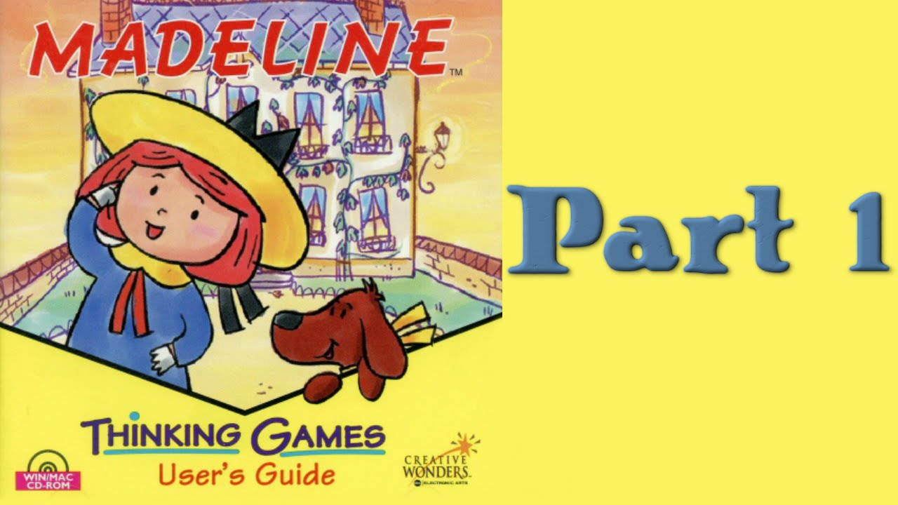 Whoa I Remember: Madeline Thinking Games: Part 1