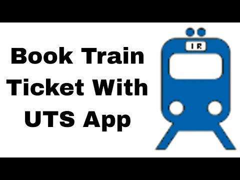 How To Book Local Railway Ticket From Smart Phone - UTS APP - Mumbai Local Train Ticket App