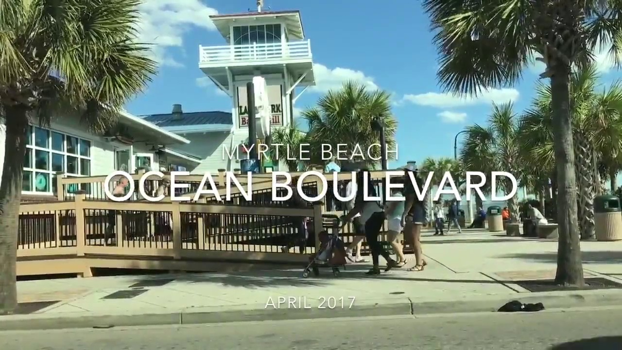 Boulevard Pov Myrtle Beach April 2017 Attractions