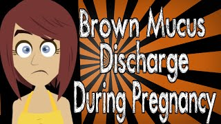 Brown Mucus Discharge During Pregnancy