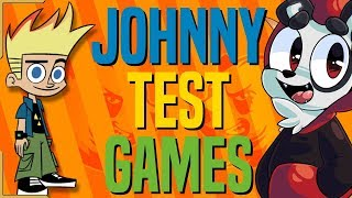 JOHNNY TEST GAMES | The Alpha Jay Show