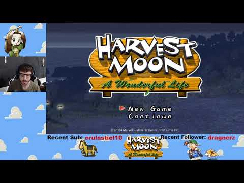 Harvest Moon: A Wonderful Life! (Part 1)