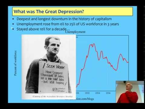 Lecture 6 on Minsky, Financial Instability, the Great Depres