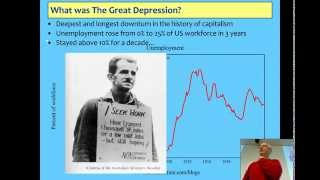 Lecture 6 on Minsky, Financial Instability, the Great Depression & the Global Financial Crisis
