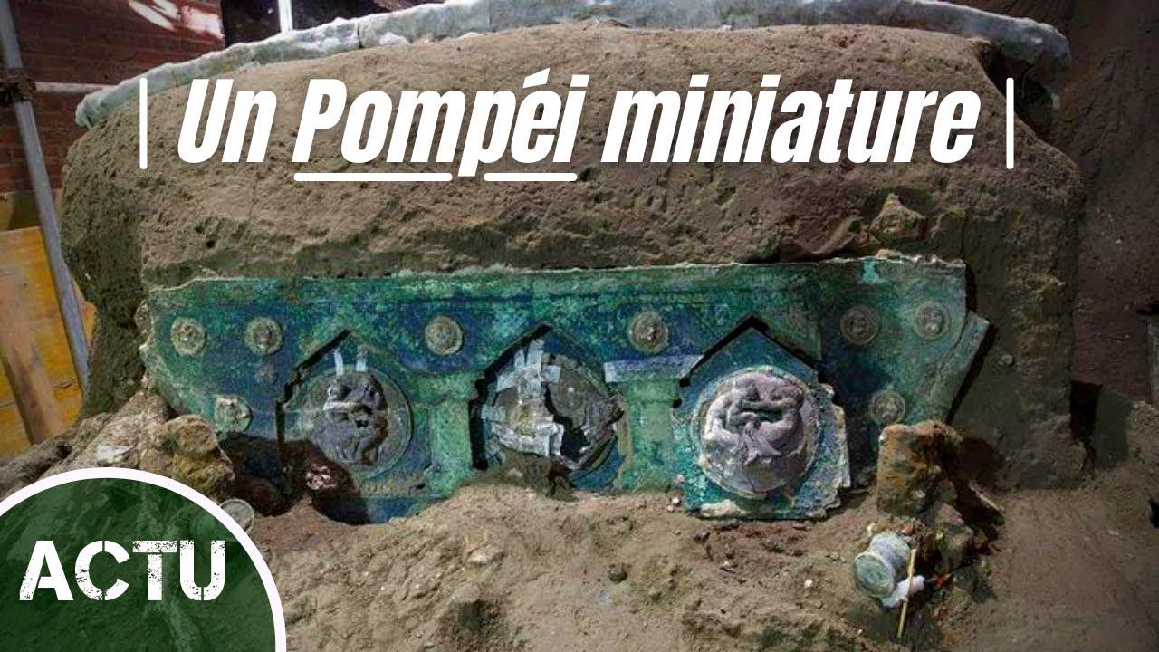 Savez-vous qu'un Pompéi Miniature se cache sous un Cinéma Italien ?!
