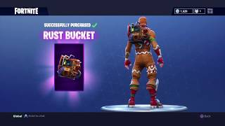 *FREE* RUST BUCKET BACK BLING + LOVE RANGER in Fortnite Battle Royale! Item Shop UPDATE!!