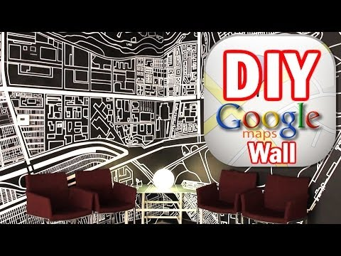 DIY Google Map Wall, MAN VS. PIN #5